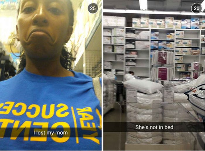 17 Epic Stories That Played Out On Snapchat (49 pics)