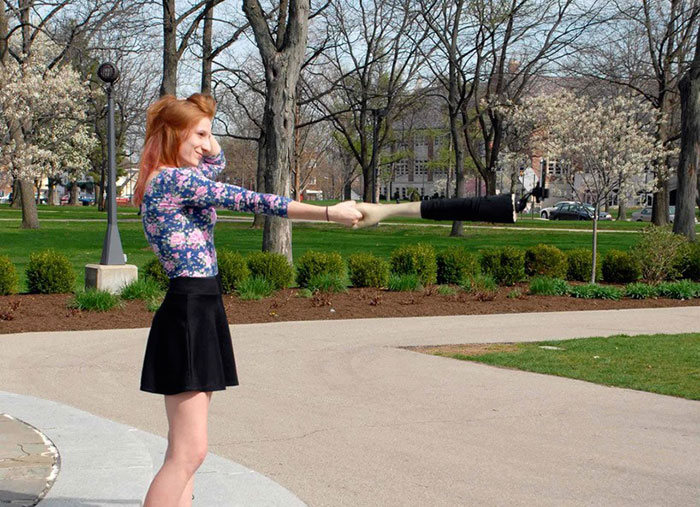 This Selfie Stick Looks Like An Arm So People Will Think You Have Friends (5 pics)
