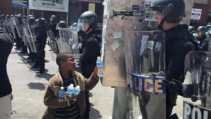 Baltimore Protest Pictures The Media Isn't Showing You (13 pics)