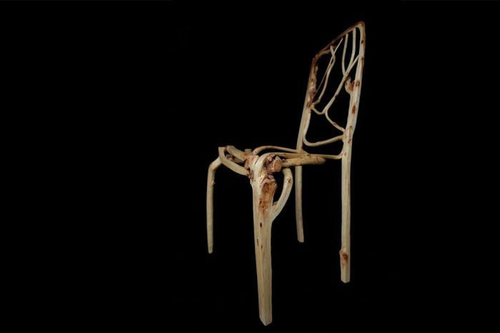 Modern Technology Turns Trees Into Art And Furniture (9 pics)