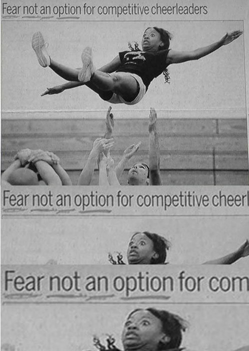 When Cheerleaders Make Awkward Faces (16 pics)