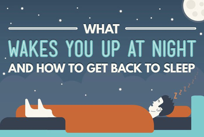 5 Reasons You Can't Get A Night's Sleep (infographic)