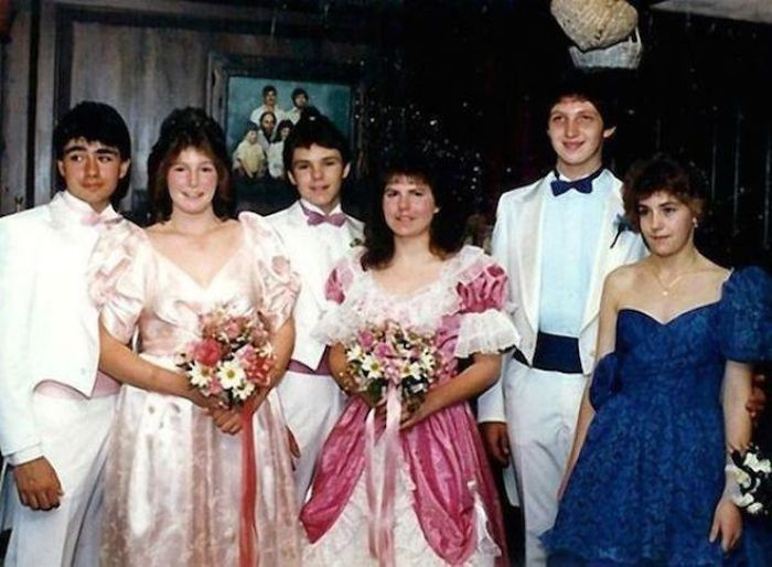These 80s Prom Throwback Pictures Are Out Of Control (36 pics)