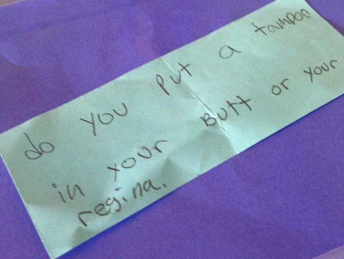 Kids Ask Unintentionally Hilarious Questions During Sex Ed (14 pics)