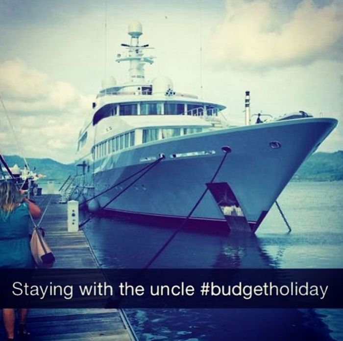 The Rich Kids Of Snapchat Are Getting To Be Obnoxious (18 pics)