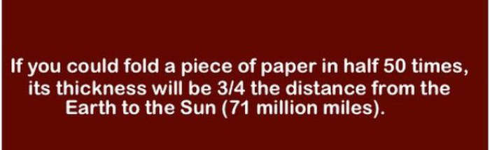 Load Up Your Brain With These Fun And Fascinating Facts (29 pics)
