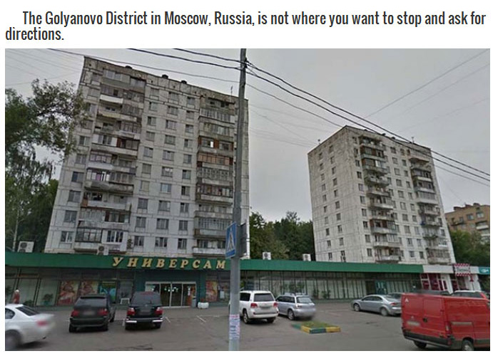 Google Maps Locations You Definitely Don't Want To See In Person (13 pics)