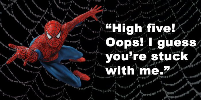 Perfect Superherhero Pickup Lines (17 pics)