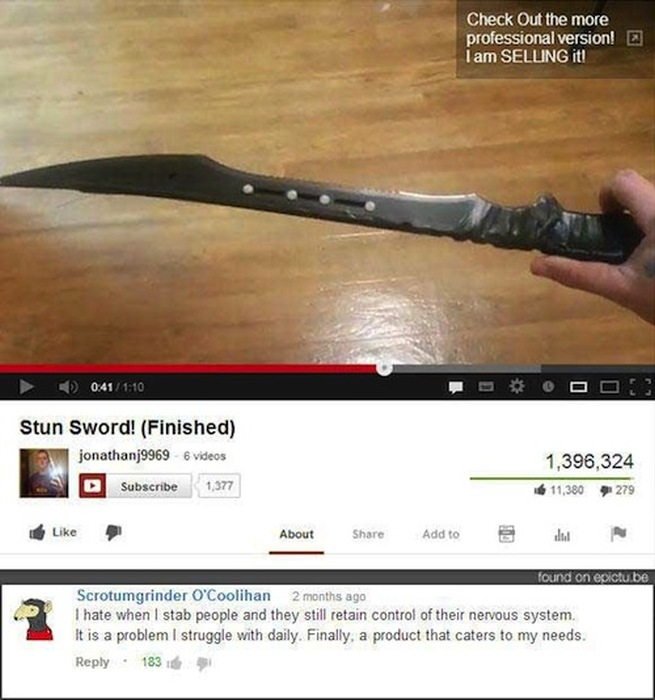 Sometimes The Best Thing About YouTube Is The Comments (24 pics)