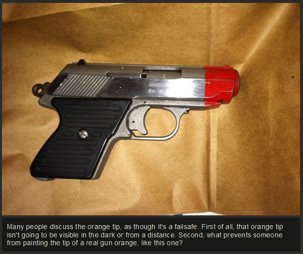 Can You Tell The Difference Between A Real And A Fake Gun? (10 pics)