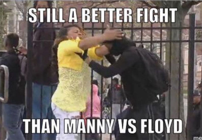 Pictures That Perfectly Sum Up Floyd Mayweather Vs Manny Pacquiao (23 pics)