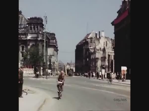 Color Footage Of Berlin In July 1945