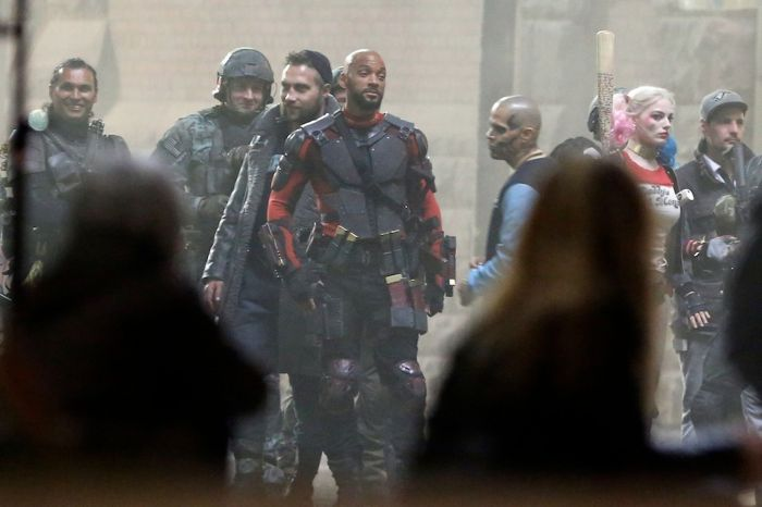 Will Smith's Deadshot Costume From Suicide Squad Revealed (6 pics)