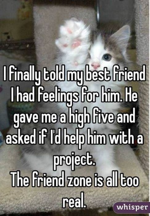 Terrifying Tales From The Friend Zone (17 pics)