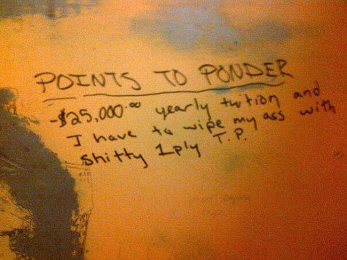 Profound Philosophical Thoughts You Can Read On Public Toilets (17 pics)