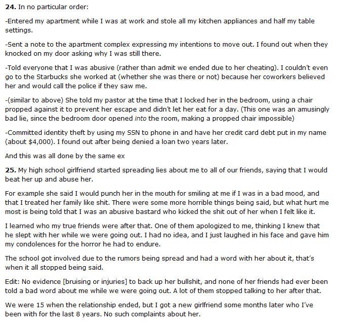 25 Guys Tell Their Crazy Ex-Girlfriend Stories (25 pics)