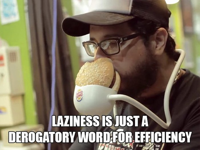 Here Are 10 Reasons Why It's Ok To Be Lazy (10 pics)