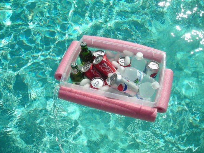 This DIY Floating Cooler Is Perfect For Summer (10 pics)