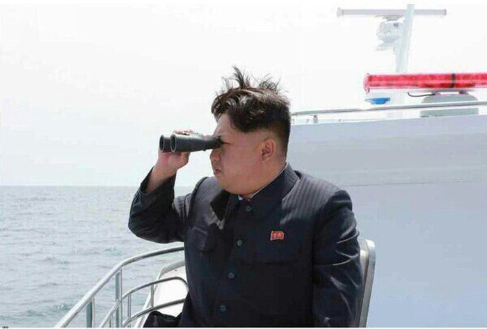 North Korea Testing Submarine Based Ballistic Missiles (5 pics)