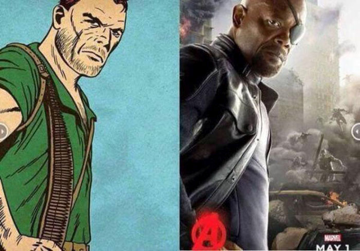 What The Comic Book Avengers Look Like Compared To Their Film Adaptations (10 pics)