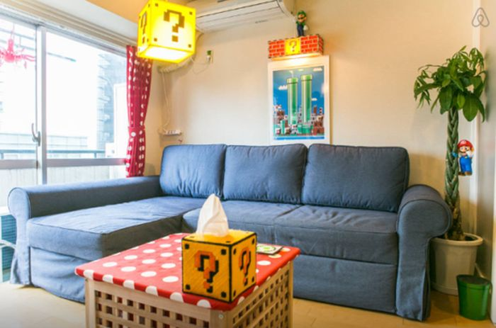 This Tokyo Apartment Is A Super Mario Fan's Dream Come True (12 pics)