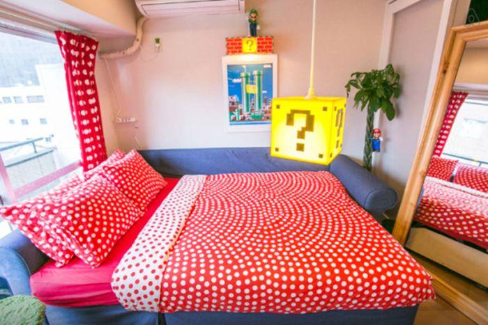This Tokyo Apartment Is A Super Mario Fan's Dream Come True (12 pics)