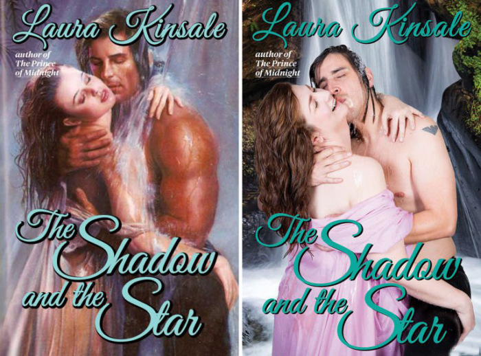 Average People Recreate The Covers Of Romantic Novels (10 pics)
