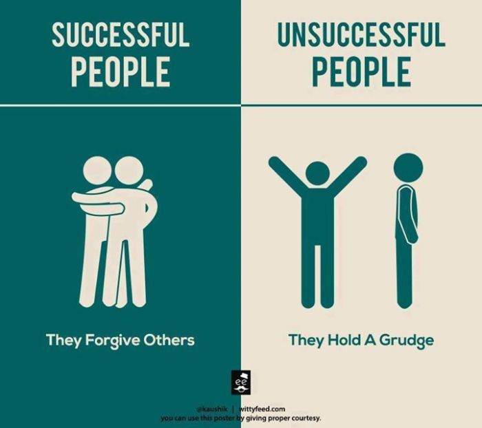 The Difference Between Successful And Unsuccessful People (5 pics)