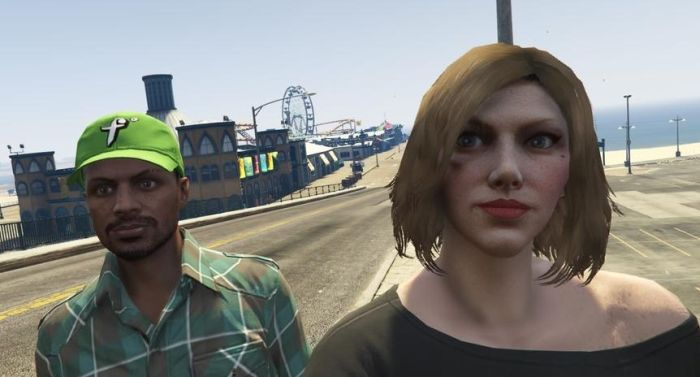 This Man Met His Best Friend On GTA (2 pics)