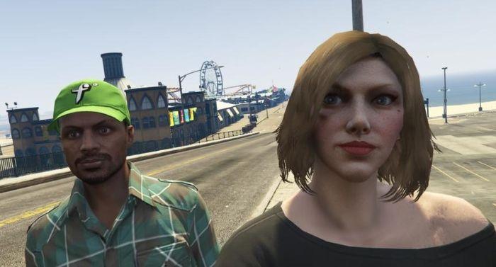 This Man Met His Best Friend On GTA (2 pics)