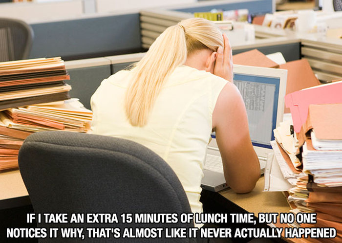 Thoughts We've All Had While Working At The Office (14 pics)