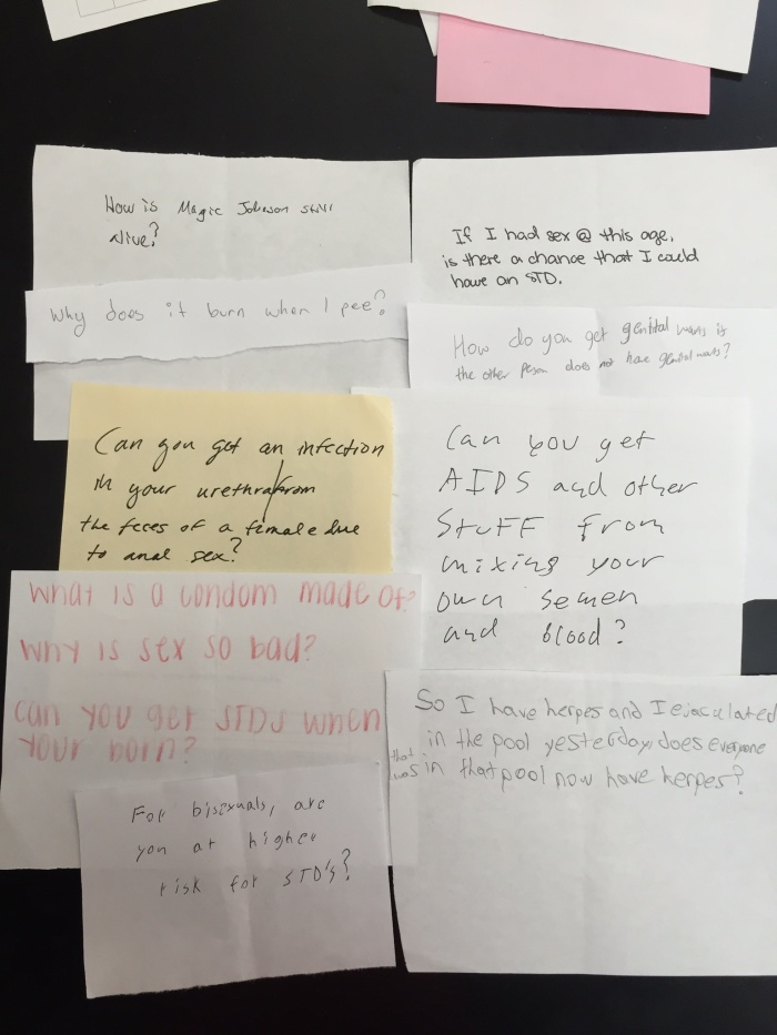 Anonymous Sex Questions Asked By Ninth Graders (16 pics)