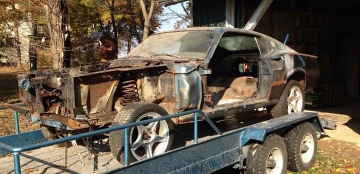 Restored 1969 Ford Mustang Gets A Second Chance At Life (69 pics)
