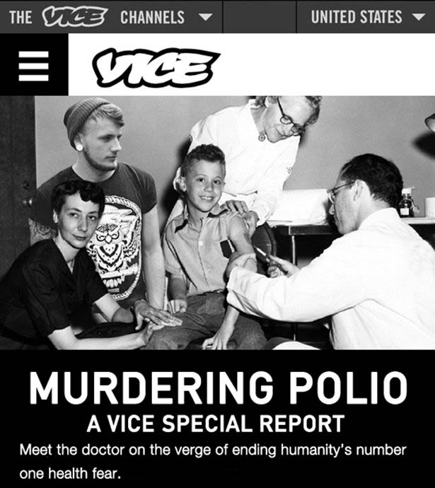 If Vice Covered Stories Throughout History (11 pics)