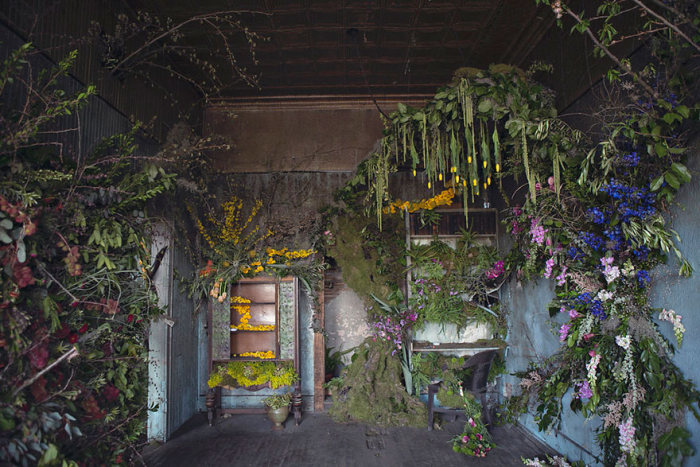 This Abandoned House In Detroit Was Turned Into Something Beautiful (15 pics)