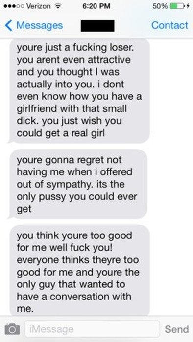 This Girl Went Off The Deep End After She Couldn't Make A Man Cheat (10 pics)