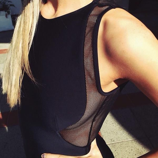 Gorgeous Women And Mesh Clothing Go So Well Together (36 pics)