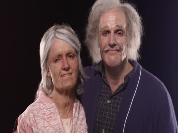 Makeup Aged Couple
