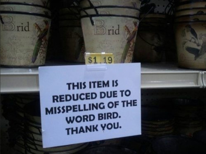 The Most Outrageous Spelling Errors In The History Of Humanity (24 pics)