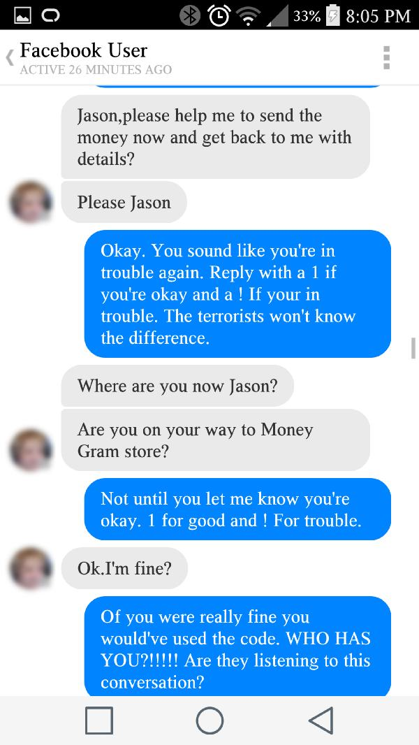 Guy Has A Little Bit Of Fun With A Nigerian Scammer (21 pics)