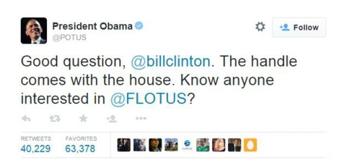 President Barack Obama Finally Gets His Own Twitter Account (3 pics)