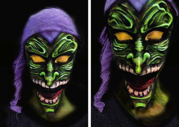 Amazing Face Painting  (27 pics)