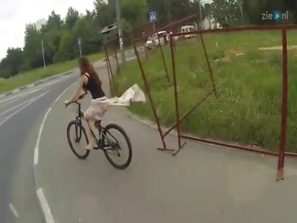 Cycling Girl Strips