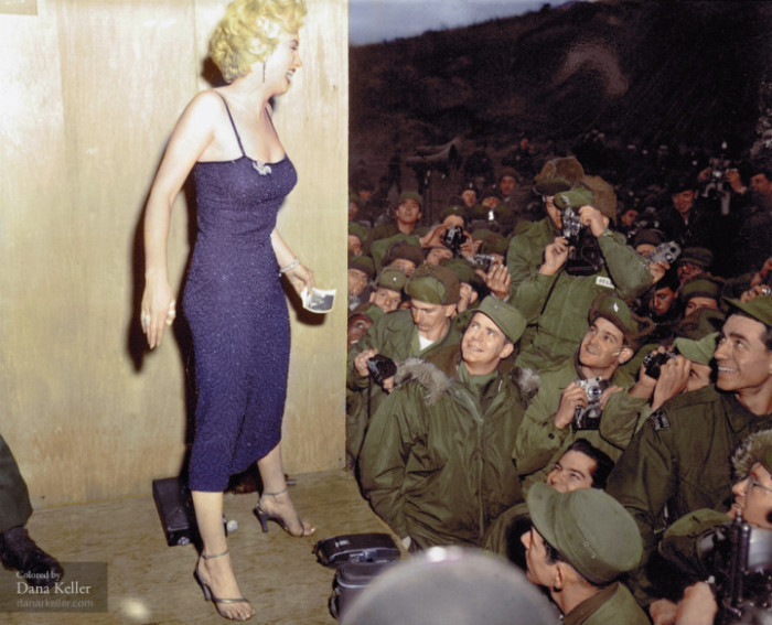 Restored Vintage Photos Come Back To Life Thanks To Bright Colors (41 pics)