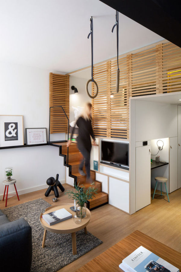 This Small Loft In Amsterdam Is The Perfect Living Space (14 pics)