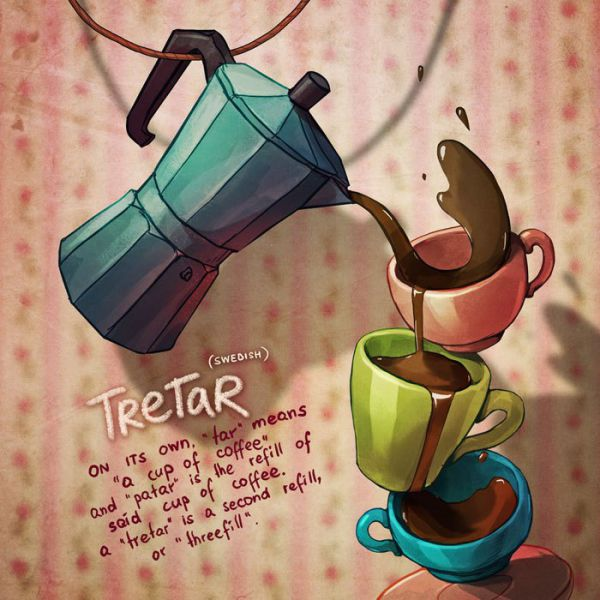 Illustrations That Bring One Of A Kind Words To Life (10 pics)