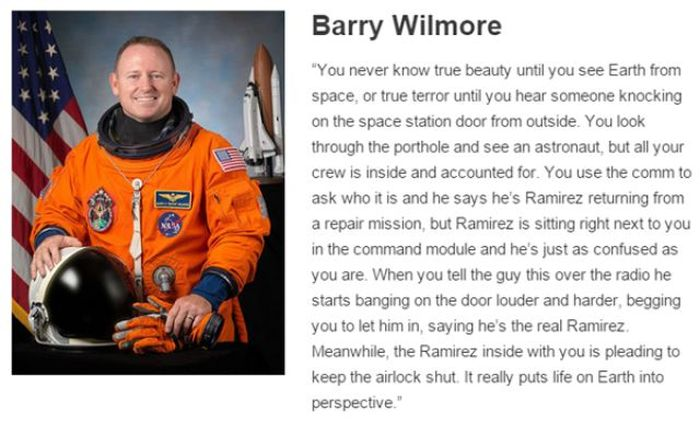 Astronauts Describe What It's Like To Be In Outer Space (8 pics)
