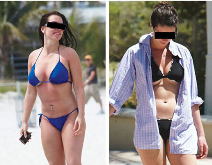 Reasons Why Summer Is Not A Fun Season For Girls With Big Boobs (23 pics)