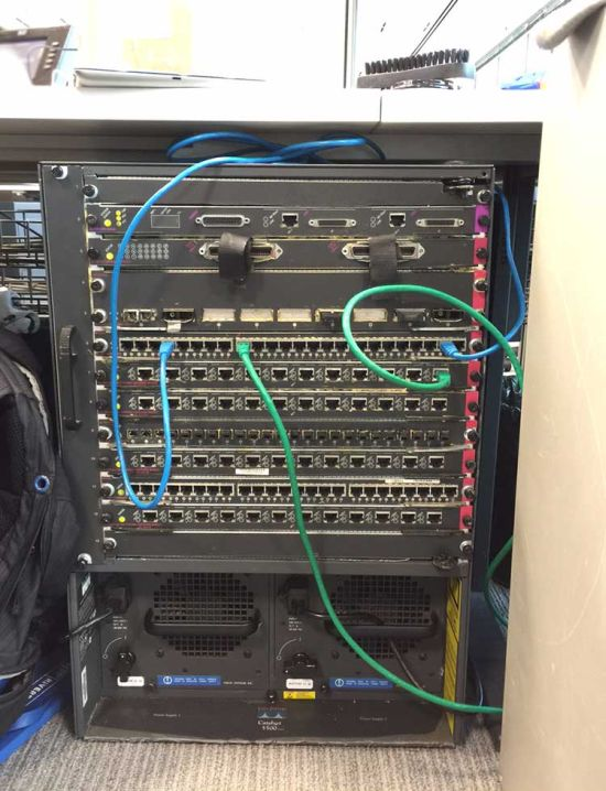 This Old Cisco 5500 Is Way Cooler Now (2 pics)
