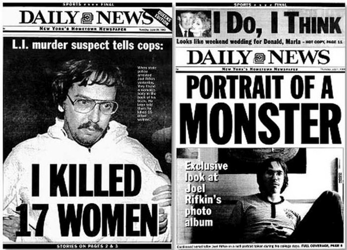 Serial Killer Headlines That Made The Front Page (7 pics)